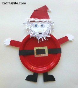 Christmas crafts for kids - Santa craft