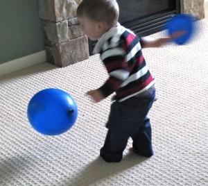 Preschool sports theme - Earth Day tennis