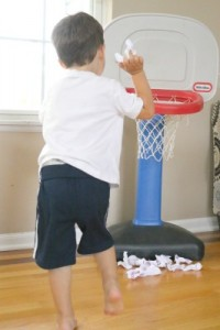 Preschool sports theme - fine-motor-abc-basketball throw