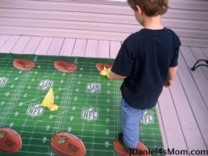 Preschool sports theme - football learning