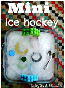 Preschool sports theme - mini ice hockey