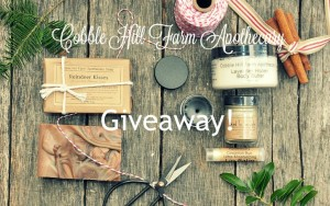 Giveaway: Cobble Hill Farm Apothecary!