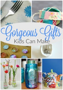 SUch sweet gifts kids can make!