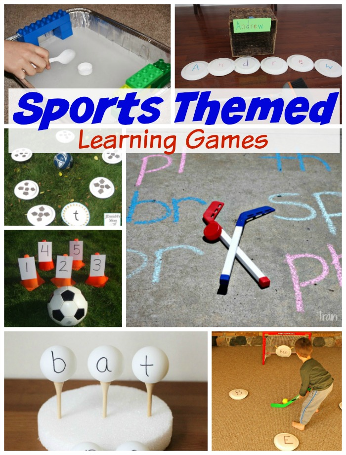 Sports Themed Learning Games! - How Wee Learn