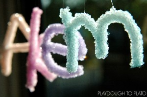 Name activities for preschoolers - crystal names