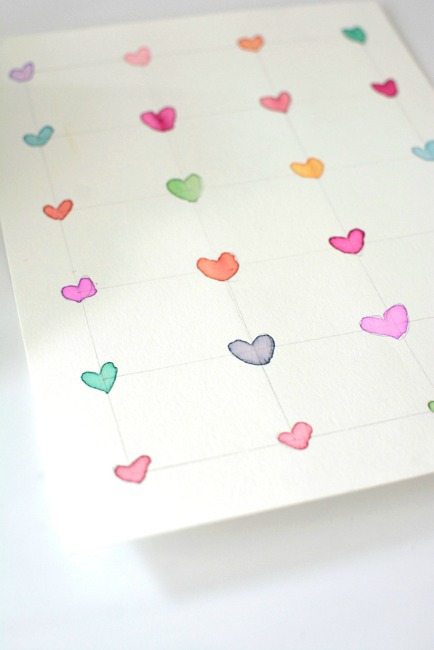 Valentines crafts for preschoolers - heart to heart