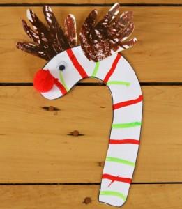 A Candy Cane Reindeer Keepsake + a GIVEAWAY!