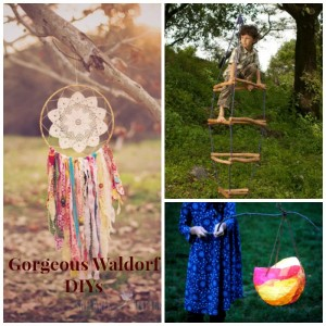 Gorgeous Waldorf crafts and DIYs!
