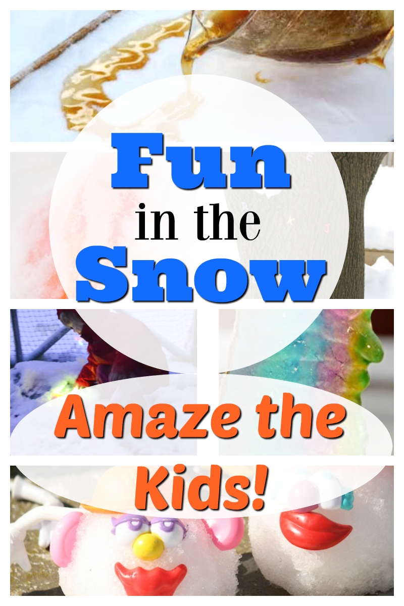 The MOST fun you can have outdoors in the snow! These snow activities for kids are nice and easy for preschoolers and toddlers. #snowactivities #funinthesnow #snowfun #preschoolactivities #toddleractivities #familyfun