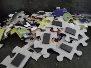 Quiet time activities for a trip - magnetic puzzle