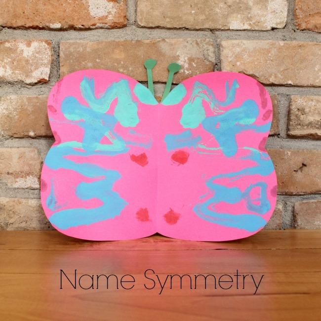 Name Symmetry Butterflies! Brilliant