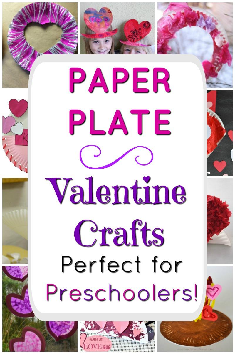 Perfect paper plate crafts for Valentine's Day! These Valentine's Day crafts are awesome for preschoolers #valentinesdaycrafts #heartcraft #preschoolcrafts #craftsforkids #paperplatecrafts