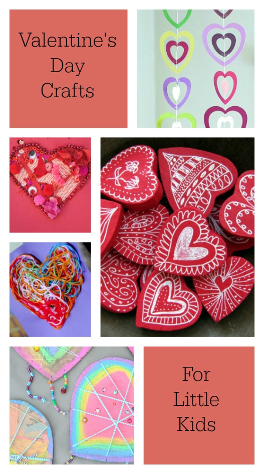 Gorgeous Valentine's Day Crafts for preschoolers! LOVE!