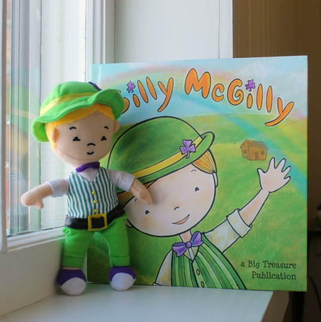 So much St Patrick's Day fun with Silly McGilly!