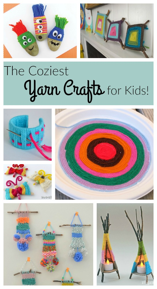 Fantastic yarn crafts for kids!