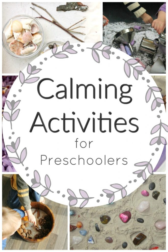 Relaxing, calming activities for preschoolers. Perfect quiet time activities for busy kids! #howweelearn #quiettime #independentplay #preschoolactivities #preschoollearning #busybags #toddleractivities #calmingactivities #sensoryplay #sensorybins