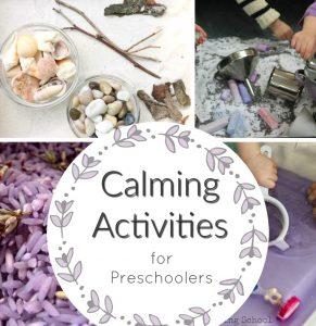 Calming Activities for Preschoolers