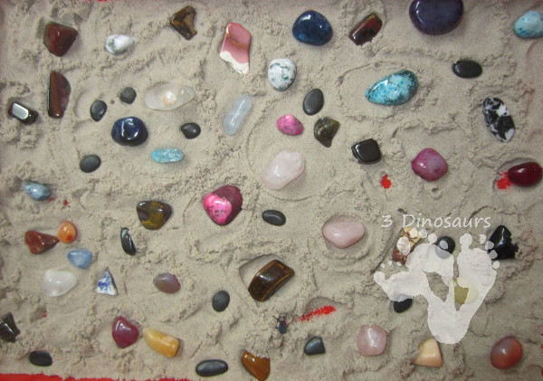 Calming activities for kids - zen rock garden