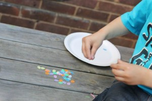 Easter egg hunt ideas - fine motor egg hunt