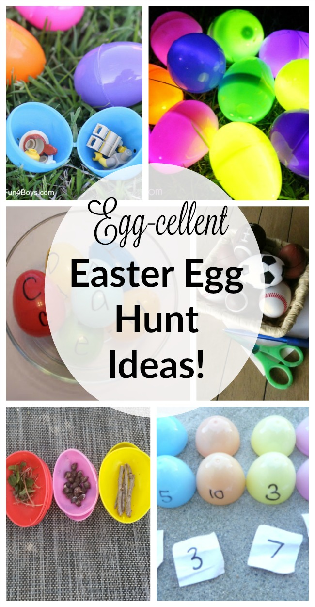 Egg cellent easter egg hunt ideas how wee learn for Easter egg ideas