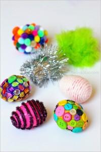 Preschool Easter activities - texture eggs