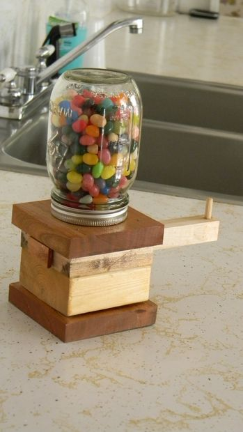 Woodworking Projects For Kids Candy Dispenser