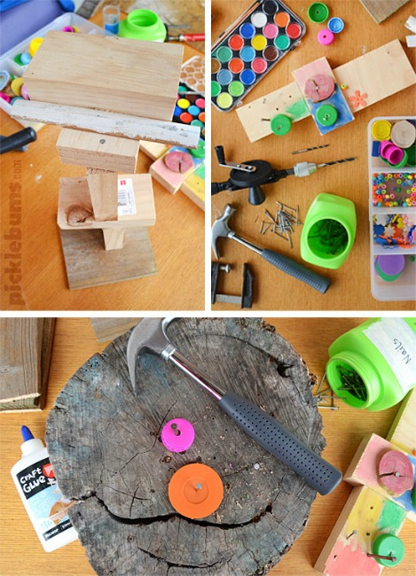 Woodworking projects for kids - woodworking kit