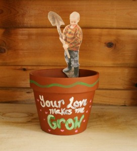 """Your Love Makes Me Grow"" Planters"