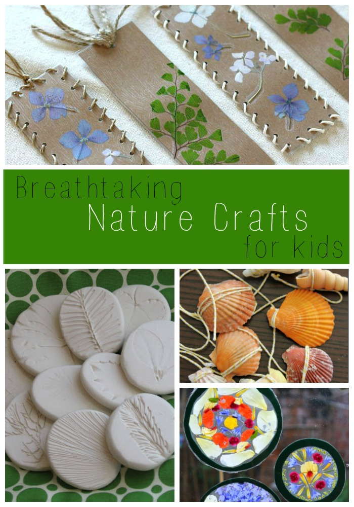 These nature crafts for kids are gorgeous!