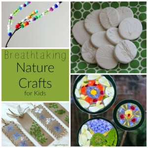 Breathtaking nature crafts for kids!
