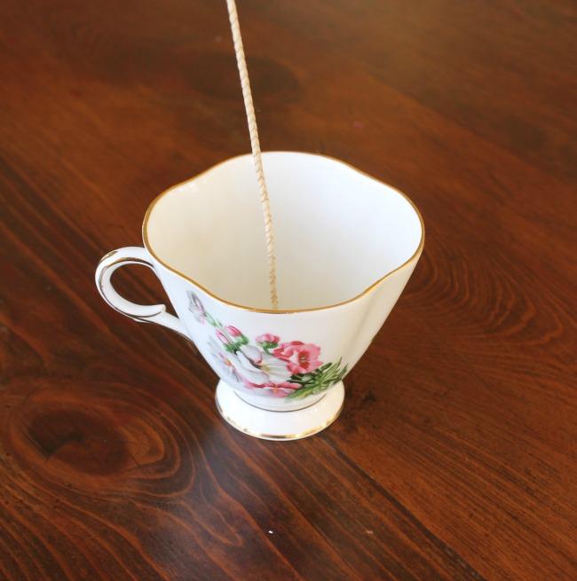 tea cup wick