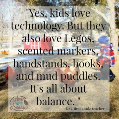 Yes, kids love technology - blogs