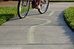 Fun outdoor games for kids - bike games