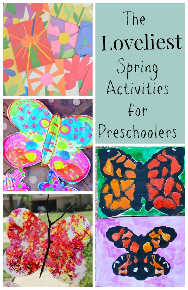 The Loveliest Spring Activities For Preschoolers How Wee Learn