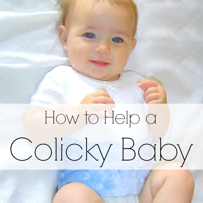 How to help stop a baby who cries constantly! Perfect for colicky babies, works like a charm!