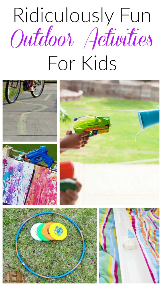 These are such fun outdoor games for kids this spring and summer! Perfect fun for preschoolers and the whole family!