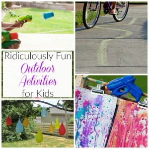 Ridiculously Fun Outdoor Games for Kids!