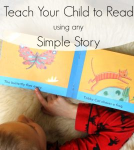 Teach your child to read using any Simple Story!