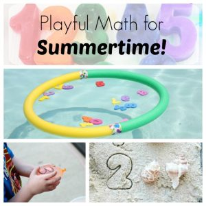 These number learning games are perfect for preschoolers this summer!