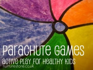 Games to play outside - parachute games