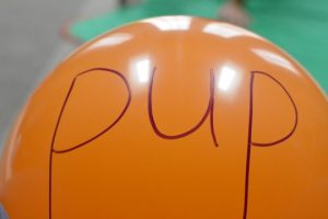 How to teach reading this summer - balloon words