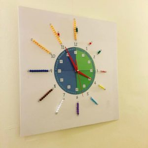 Learn to tell time - Montessori clock