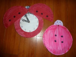 Learn to tell time with the grouchy ladybug