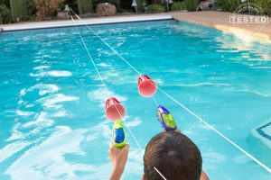 Summer games to play outside - squirt gun races