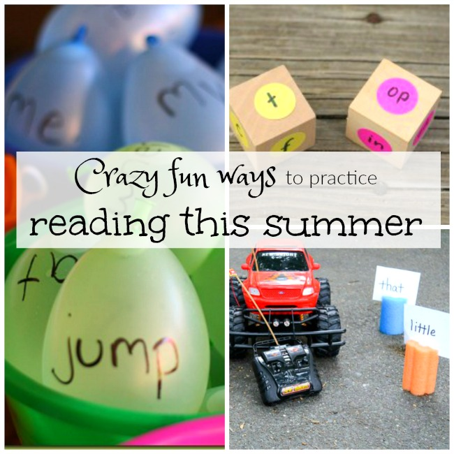 Super fun ways to practice sight words, word families, and learn to read this spring and summer!