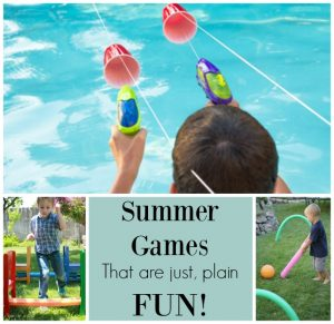 These summer games for playing outside are just plain fun for kids of all ages!