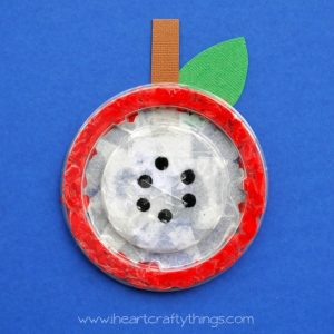 Apple theme - inside an apple craft