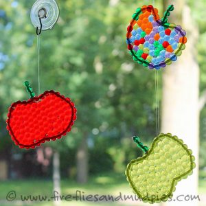 Apple theme - suncatchers