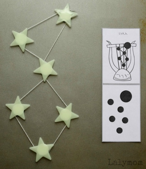Constellation activities for kids how wee learn constellations for kids diy star magnets publicscrutiny Image collections