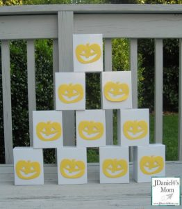Halloween games for kids - boxes and pumpkins